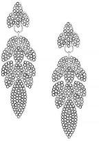 Louise et Cie Opulent Crystal Petal Drop Earrings