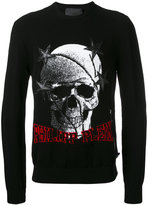 Philipp Plein Historical jumper - men - Polyester/Viscose/Merino - M