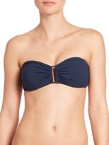 Zimmermann Separates Wide Link Bandeau Bikini Top