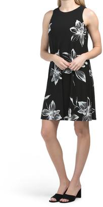 Gwen Printed Spaced Floral Dress