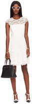 Kate Spade Rose lace fit and flare dress