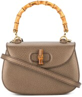 Gucci Pre Owned Bamboo Line 2way Hand Bag