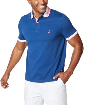 Nautica Men's Classic-Fit Colorblocked Polo Shirt