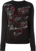 Philipp Plein 'Stellar' sweatshirt - women - Cotton/Nylon/Viscose - L