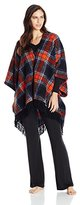 Kensie Women's Plush Fleece Wrap Robe