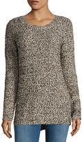 BB Dakota Textured Crewneck Sweater