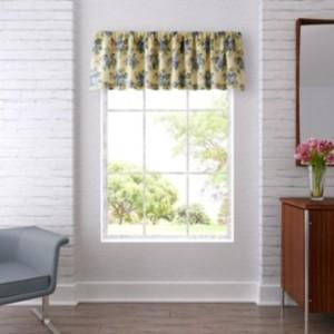 Laura Ashley Linley Yellow Window Valance Bedding