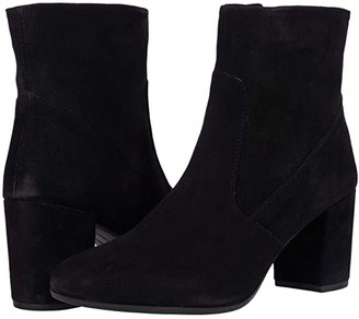 Matisse Vale (Black Suede) Women's Pull-on Boots