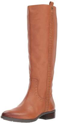 Sam Edelman Women's Prina Knee High Boot Whiskey Leather 8.5 M US