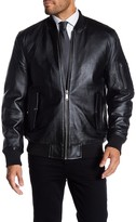 Rogue Men's Leather Bomber Jacket