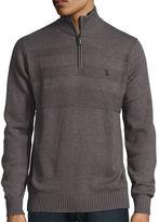 U.S. Polo Assn. Mock Neck Long Sleeve Cotton Pullover Sweater