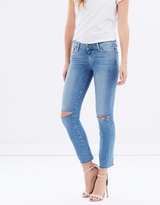Paige Miki Straight Jeans
