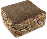 Bed Bath & Beyond Josette Green Tweed Floor Cushion