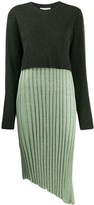 J.W.Anderson layered pleated dress