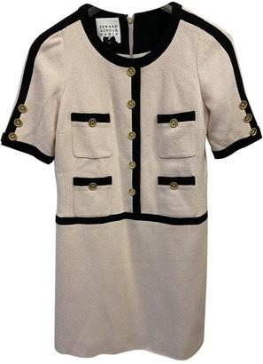 Edward Achour Beige Cotton Dress for Women