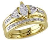 Concerto 14K Yellow Gold 1.0tcw Diamond Ring