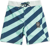 Volcom Stripey Jammer Board Shorts, Toddler and Little Boys (2T-7)