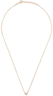 As 29 18kt rose gold Miami Heart diamond necklace