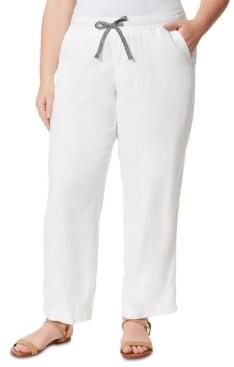 Jessica Simpson Trendy Plus Size Nara Beach Pants