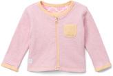 Boppy Pink Lattice Reversible Zip-Up Cardigan - Infant