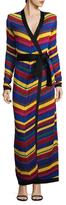 Balmain Ribbed Striped Cardigan