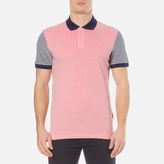 Gant Men's Colour Block Oxford Rugger Polo Shirt
