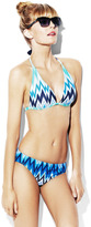 Vince Camuto Beverly Zig Zag Halter Top
