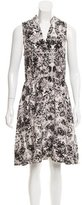 Rebecca Minkoff Floral Print Silk Dress