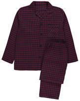 George Red Checked Pyjama Gift Set