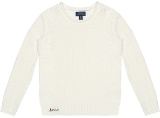 Polo Ralph Lauren Kids Ribbed cotton sweater