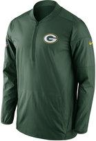 Nike Men's Green Bay Packers Lockdown Half-Zip Pullover