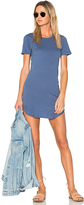 C&C California Adelise T Shirt Dress in Blue. - size S (also in )