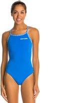 Arena Diamonds Stripe Light Drop One Piece Swimsuit 7534743