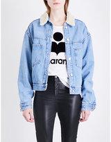 Etoile Isabel Marant Cassy embellished denim jacket