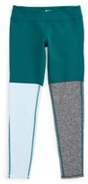 Zella Girl's Tricolor Performance Leggings