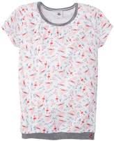 Petit Bateau Girl's FUST T-Shirt - - (Brand size: 12 ans)