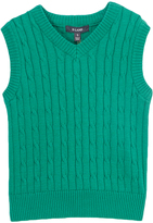 E-Land Kids Green Cable Vest - Toddler & Boys