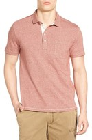 Jeremiah Men's Dixon Twist Yarn Jersey Polo