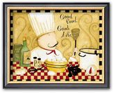 "Art.com Good Food, Good Life"" Framed Art Print by Dan Dipaolo"