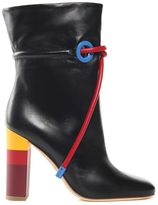 Malone Souliers Dolly Leather Ankle Boots X Roksanda