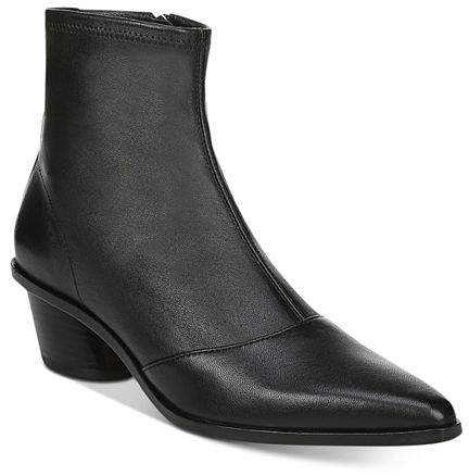 60d13be2ec7 Women's Odette Pointed-Toe Leather Booties