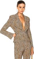 Norma Kamali Short Single Breasted Jacket