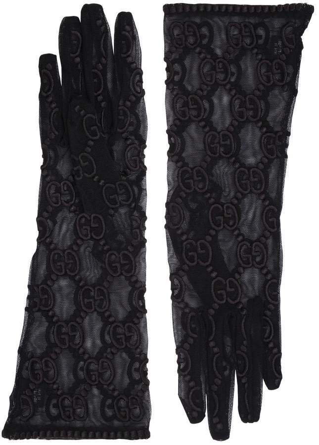 c36aaf3608b Embroidered Gloves - ShopStyle