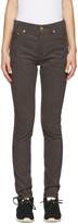 Visvim Brown Corduroy Fluxus Slub Trousers