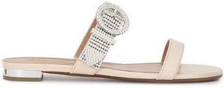 Aquazzura Chain Reaction flat sandals