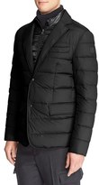 Moncler Men's 'Ferrand' Quilted Sport Coat