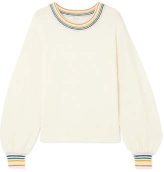 Madewell Striped Knitted Sweater - Ivory