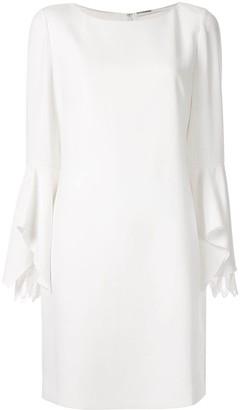 Elie Tahari Dori long-sleeved dress