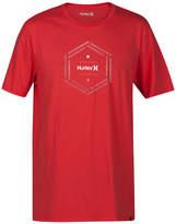Hurley Men's Multi Hex Logo-Print T-Shirt