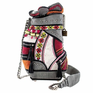 Mary Frances Crossbody Handbag Dont Be Caddy Beaded Golf Purse for Women